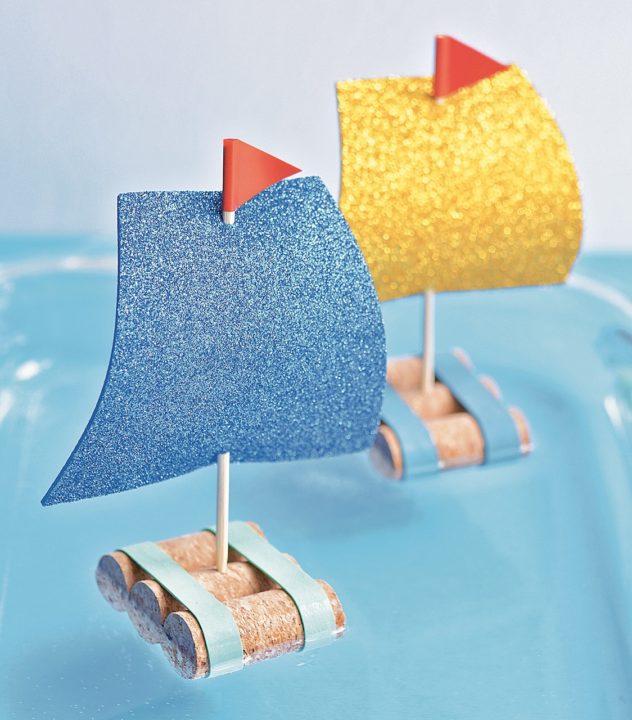cork sail boat craft
