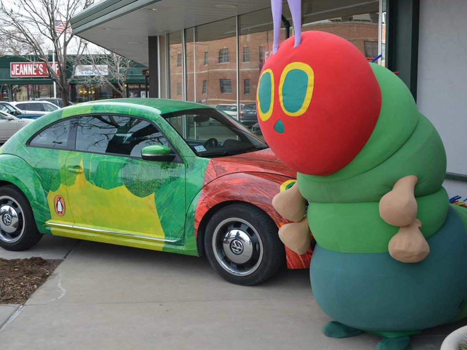 The Very Hungry Caterpillar Tour
