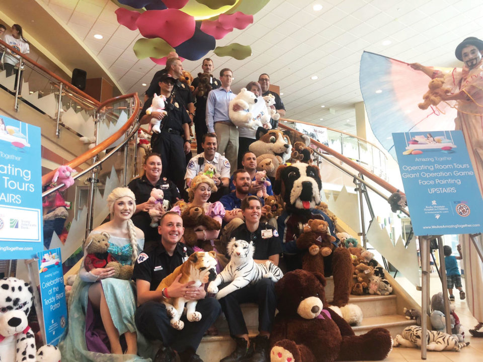 teddy bear patrol Rocky Mountain Hospital for Kids